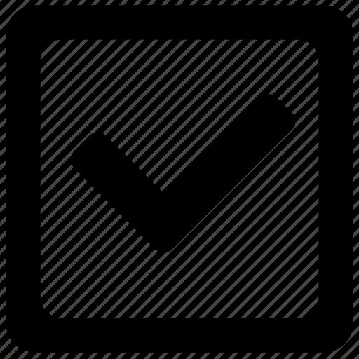 accept, apply, check, complete, form, ok, square icon