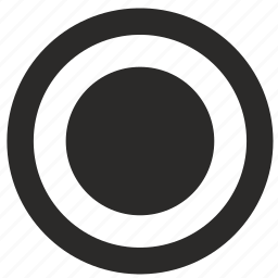 interface, radiobutton, selected icon