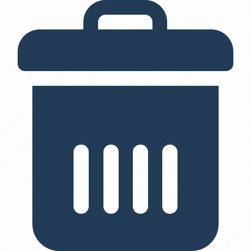 basket, bin, delete, remove, trash, waste icon