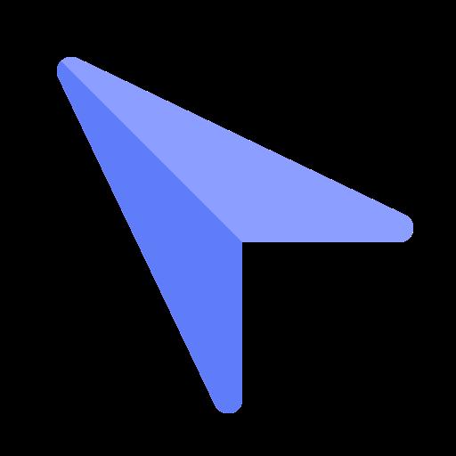 app, arrow, interface, internet, media, user, web icon