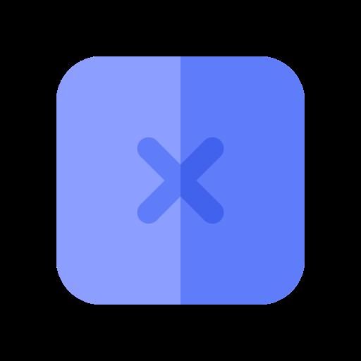 app, close, delete, remove, ui, web, x icon