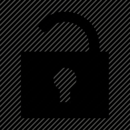 closed, interface, lock, padlock, password, user icon