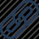 backlink, chain, hyperlink, link, url, web icon