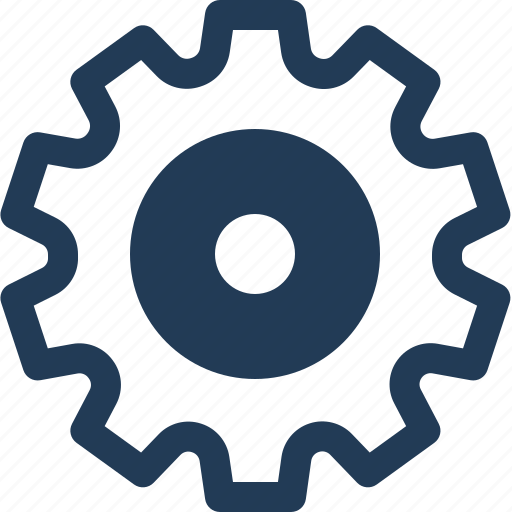 Cog gear, gear, installation, settings, setup icon - Download on Iconfinder
