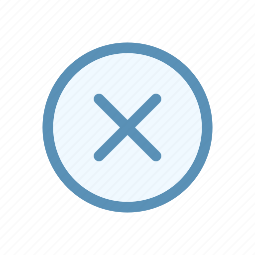 action, circle, close, interface, navigation, user icon