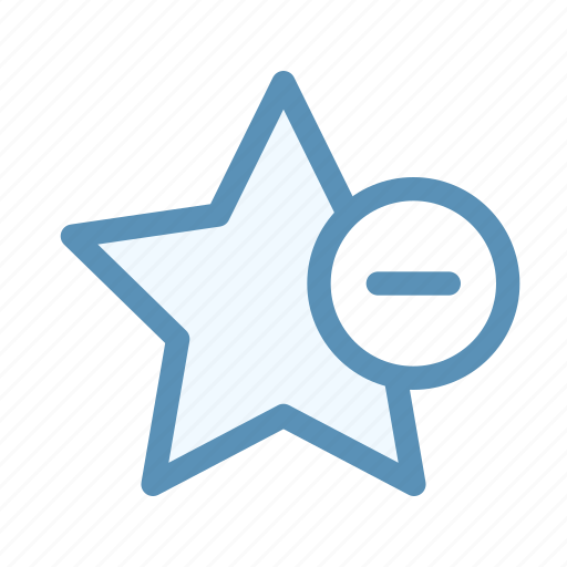 action, favorite, interface, navigation, remove, user icon