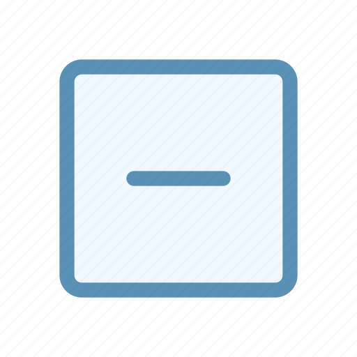 action, box, interface, minus, navigation, user icon