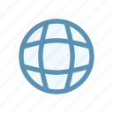 browser, globe, interface, navigation, open, user icon