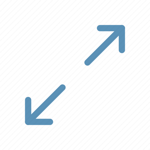 expand, interface, navigation, resize, user icon