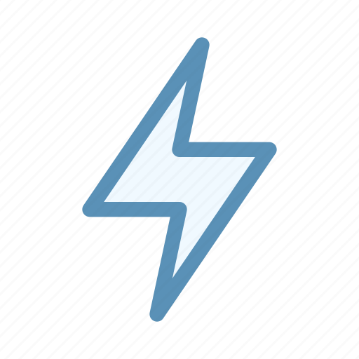 bolt, interface, notification, user icon