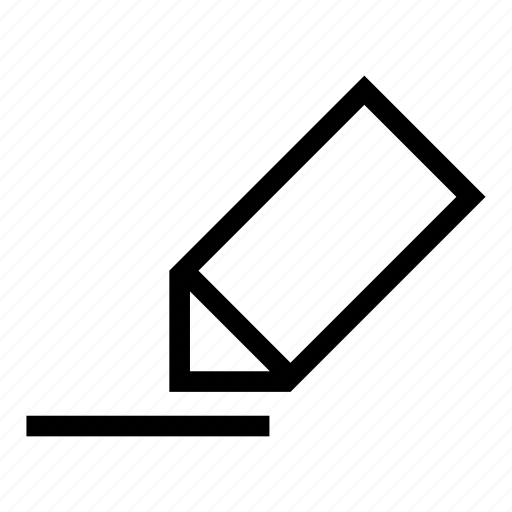 checkbox, edit, line, new, pincil, text editor icon