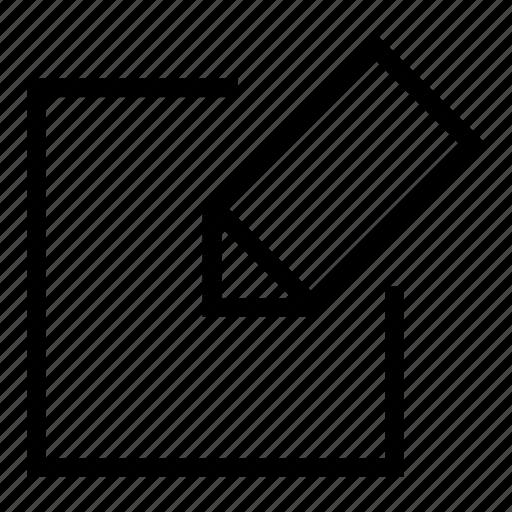 edit, edit document, new document, pincil, text editor, write icon