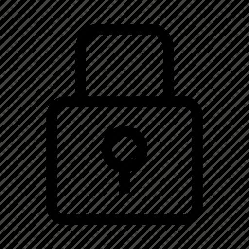 code, key, lock, locked, secret, security icon