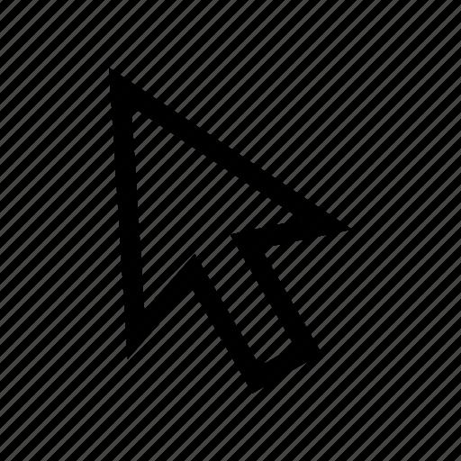 arrow, computer cursor, cursor, mouse, mouse pointer, navigation icon