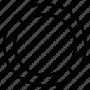 circle, helper, lifeguard, protection, shape, shield, tyre icon