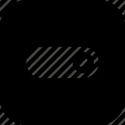 interface, off, on, slide, slider, toggle, ui icon