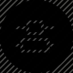align, alignment, center, distribute, interface, vertical icon