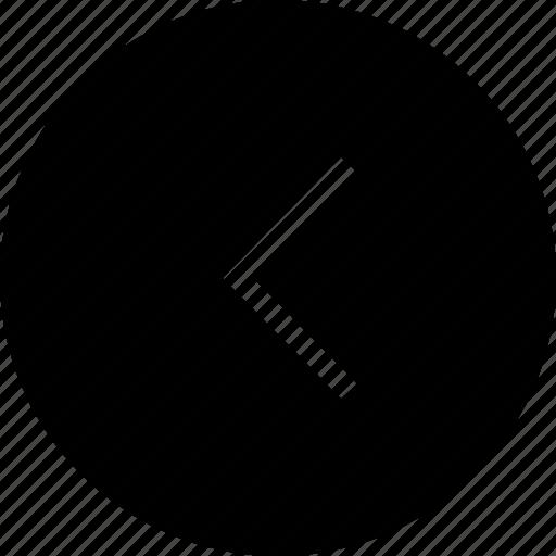 arrow, back, backword, interface, left icon