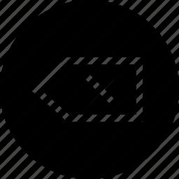 back, backward, exit, interface, ui icon