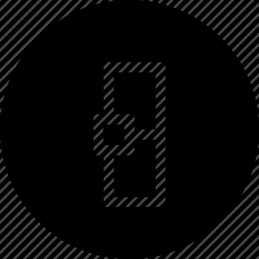 adjustment, butt, cap, interface, line, stroke icon