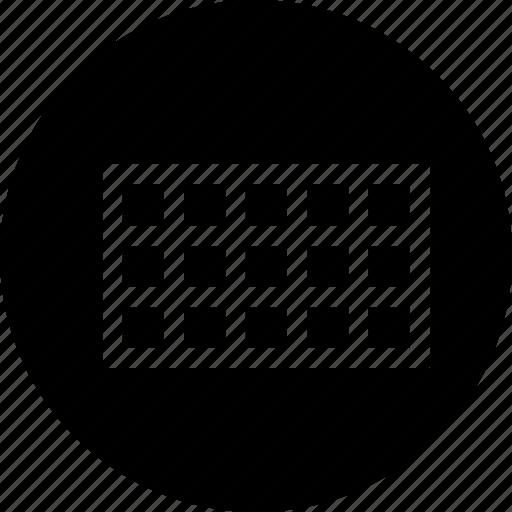 grid, interface, rectangle, rectangular, tool, ui icon