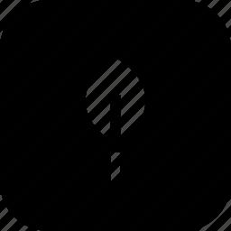 environment, interface, stroke, tree, ui icon
