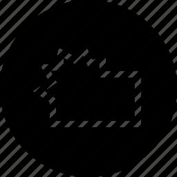 crystallized, design, interface, tool, widthtool icon