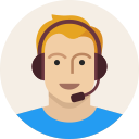 avatar, male, support, user, headset, man, young icon