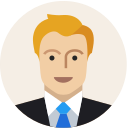 business man, male, user, avatar, profile, person, man icon