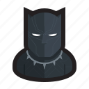 black panther, cat, marvel, panther, superhero, wakanda icon