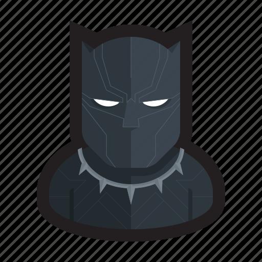 black panther, cat, marvel, panther, superhero, wakanda icon