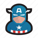 america, avengers, cap, captain, marvel, soldier, superhero icon