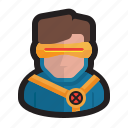 cyclops, marvel, mutant, superhero, x-force, x-men icon
