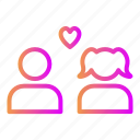 affection, like, love, relationship, romance, valentine, wedding icon