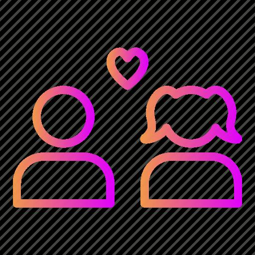 affection, like, love, relationship, romance, valentine, wedding icon