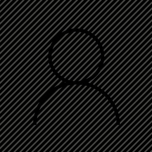 account, avatar, person, profile, user, user001 icon