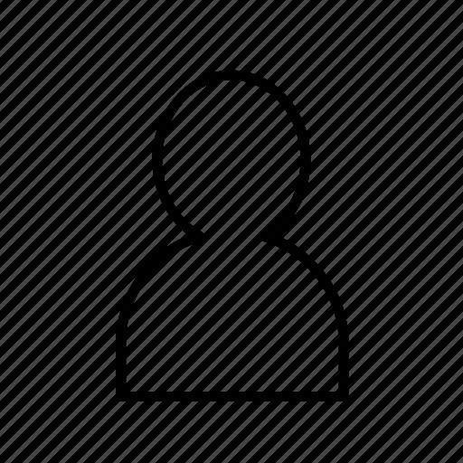 account, avatar, person, profile, user, user002 icon
