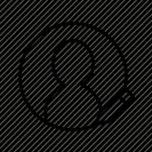 account edit, edit, profile edit, user, user edit, user setting, user003 icon