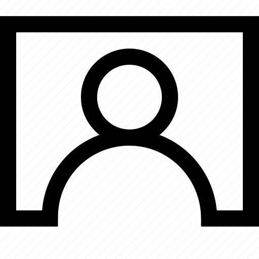 contact, interface, screen, tile, ui, user icon