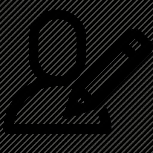 edit, interface, pen, pencil, ui, user, write icon