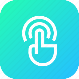 finger, fingers, gesture, interface, touch, wifi icon