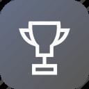 badge, first, medal, prize, trophy, winner