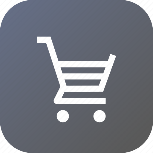 bag, bucket, interface, shopcart, shopping, tray, wheel icon