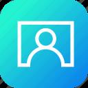contact, interface, screen, tile, user