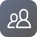 app, application, avatar, interface, people, user icon