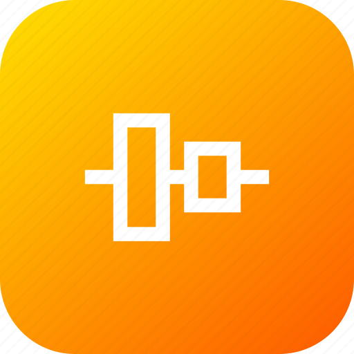 align, arrange, center, tool, vertical, vertically icon