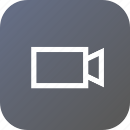 play, record, recording, rectangle, shape, triangle, video icon