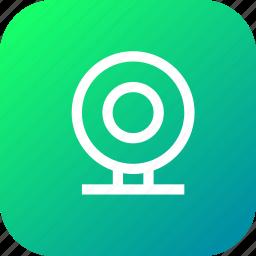 camera, interface, seo, videocall, web, webcam icon