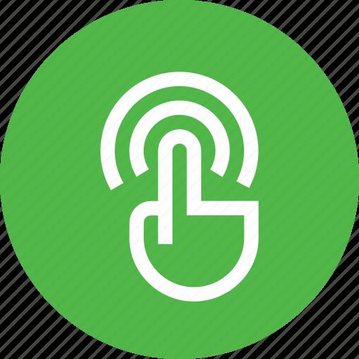 finger, fingers, gesture, interface, swipe, touch, wifi icon