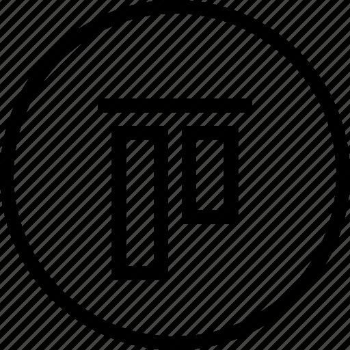 align, center, interface, top, ui, vertical, vertically icon